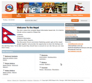 Online Nepal Information System